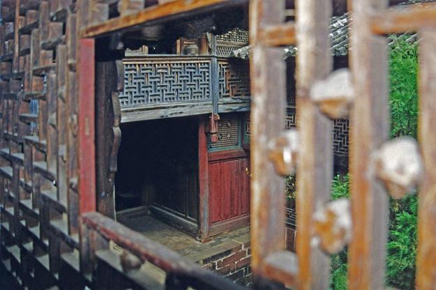 View through a window, 2002