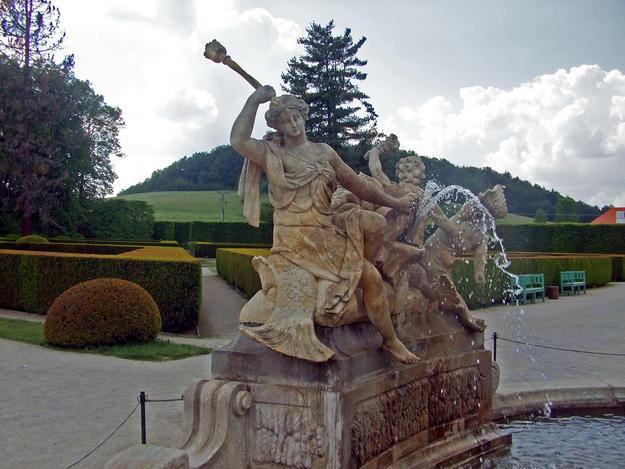 Detail of the Cascade Fountain, 2012