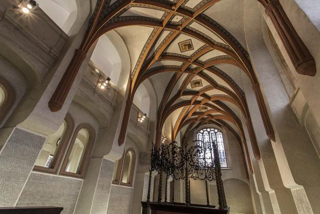 Ornate vaulted ceiling, 2013