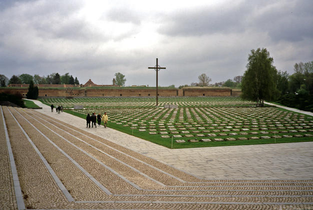 Cemetery with cross, 2004