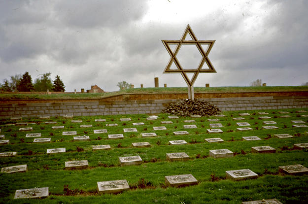 Cemetery with Star of David, 2004