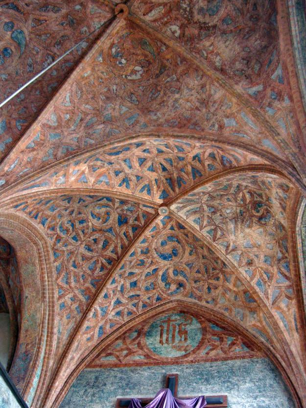 Ornate vaulted ceiling, 2009