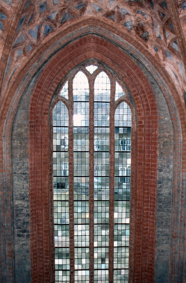 Window in the south nave, 2004