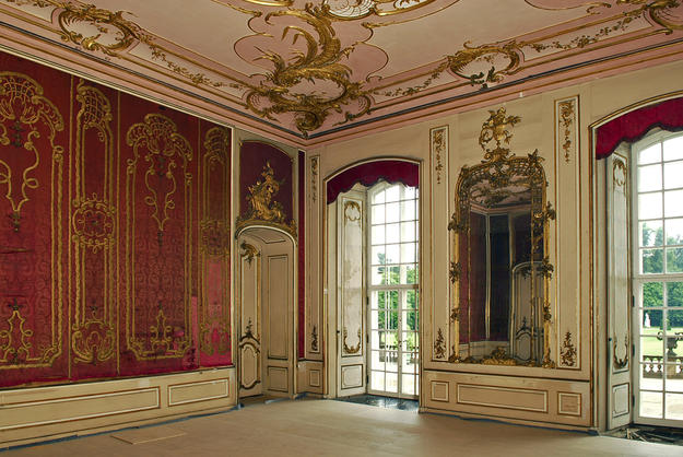 The Braided Room of the Lower Royal Suite , 2007