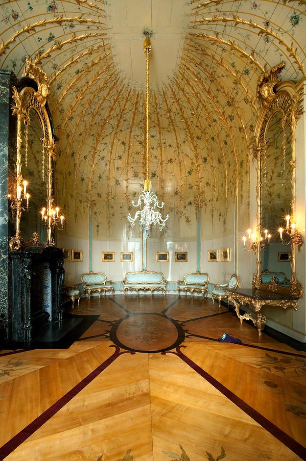 The palace's Frederician Rococo interior, 2012