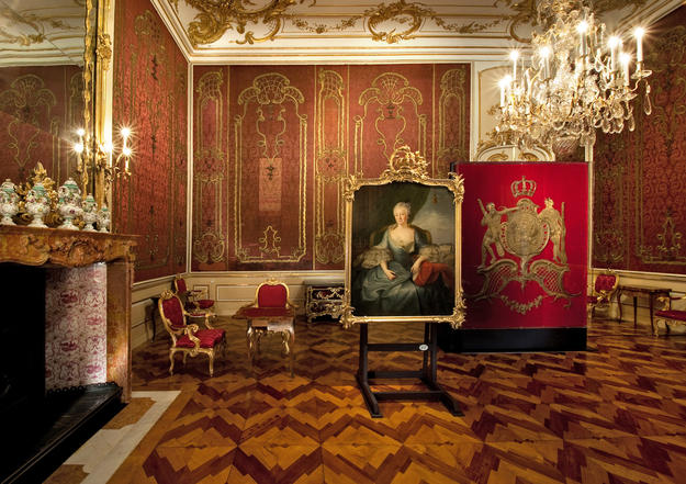 The exquisitely crafted parquet floors and wall coverings of the palace , 2012
