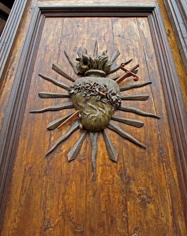 Door detail, 2012