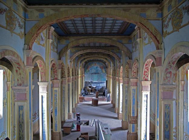 Interior, after conservation, 2012