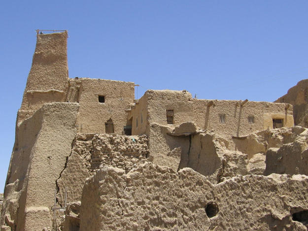 Old Mosque of Shali Fortress