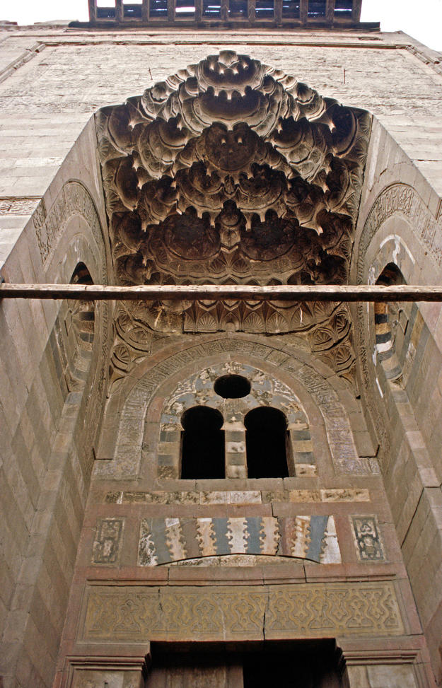 Entrance detail of the Um al-Sultan Shaaban Mosque, 2002