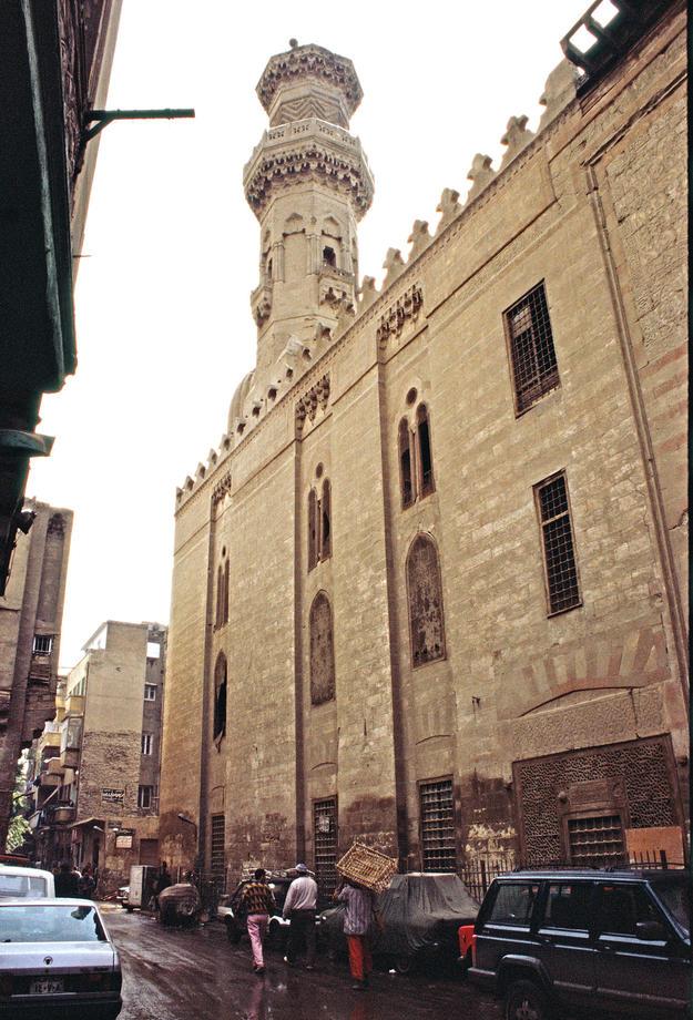 Minaret of the Um al-Sultan Shaaban Mosque, 2002