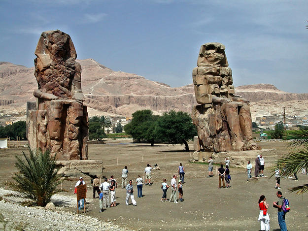The Colossi of Memnon, 2004