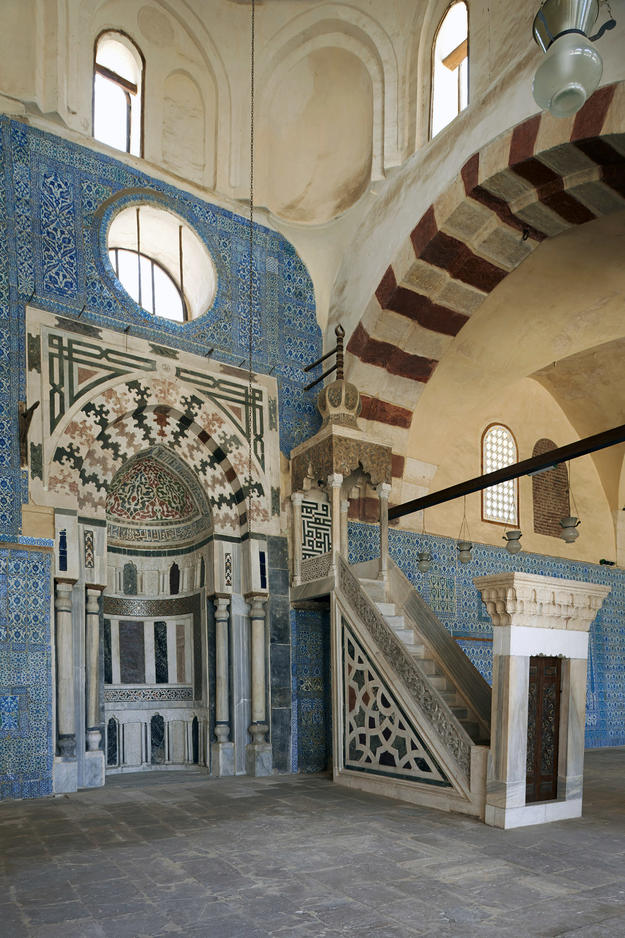 Interior decorative surfaces including Iznik tiles, 2013