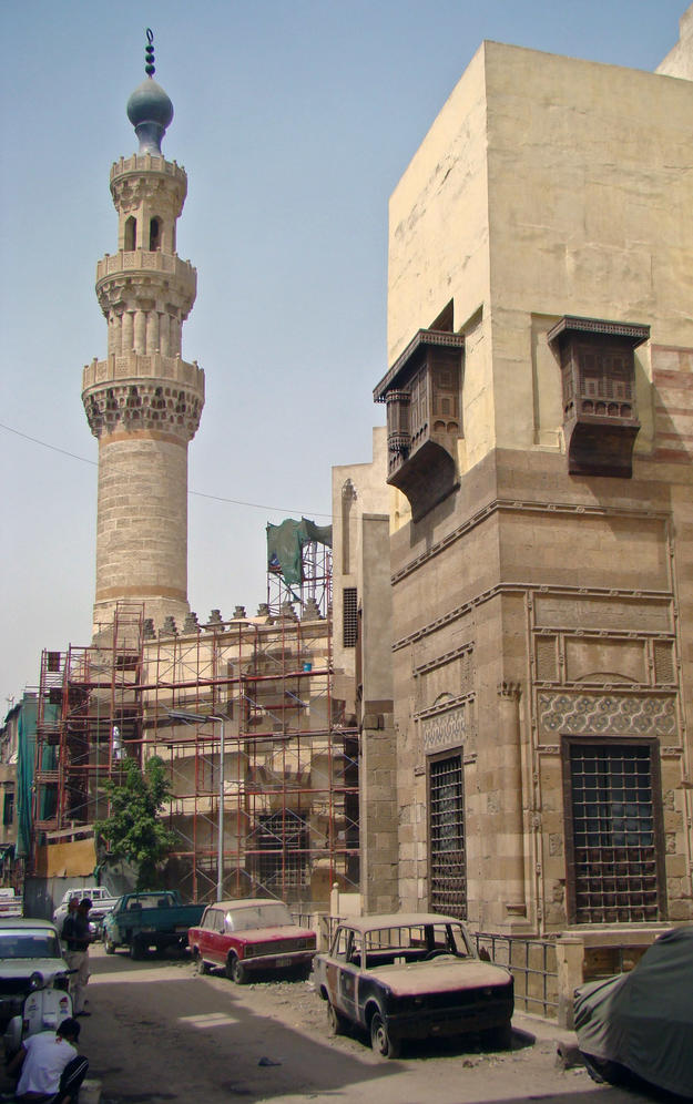 Minaret after conservation, 2010