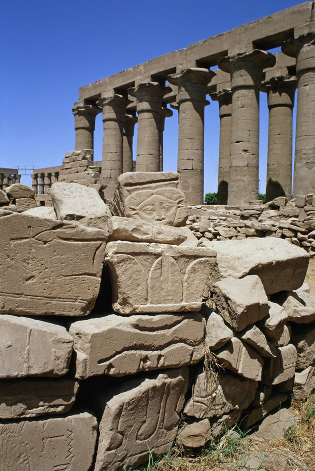 Ruins with relief, 2002