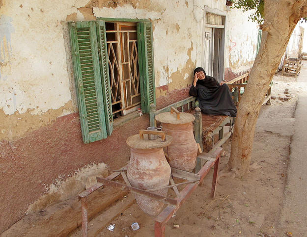 A maziara or an alcove for water jars to cool the air, 2010