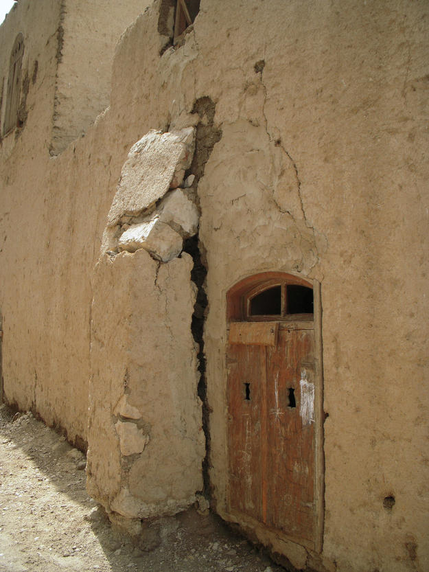 Entrance to Hassan Fathy's house, 2010