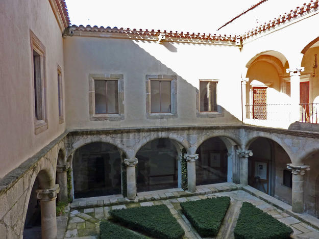 Courtyard of the cloister, 2011