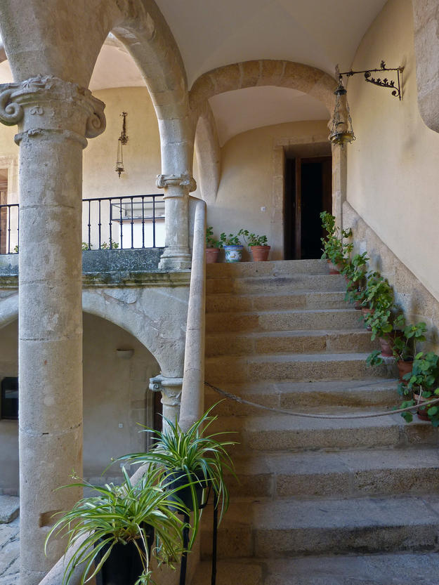 Staircase of the cloister, 2011