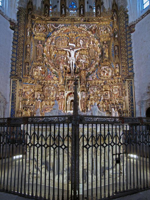 Altar after conservation, 2010