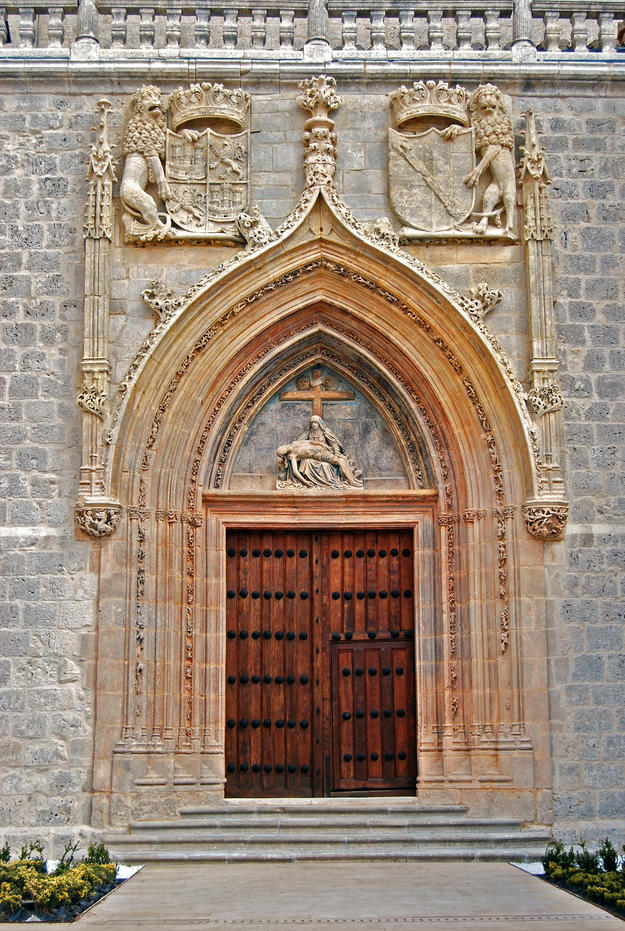 Portal after conservation , 2011