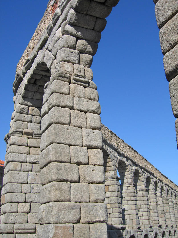 Detail of the arch, 2006
