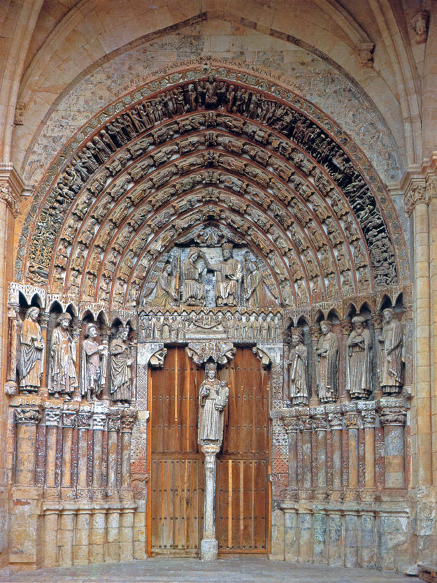 Portal before conservation, 1987