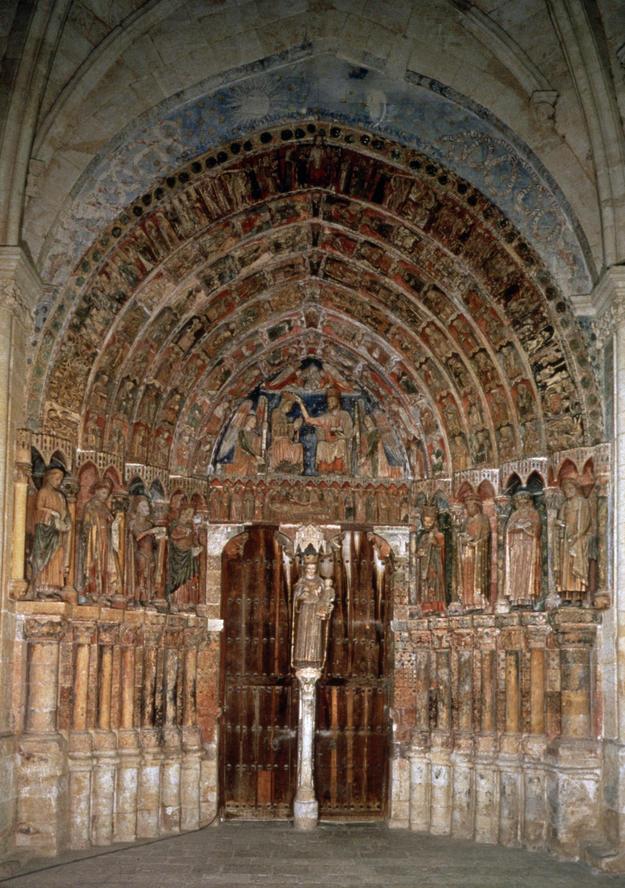 Portal after conservation, 1996