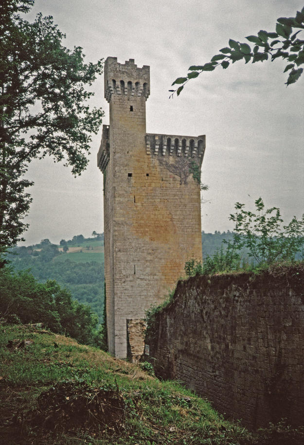 The tower and ruins, 1992