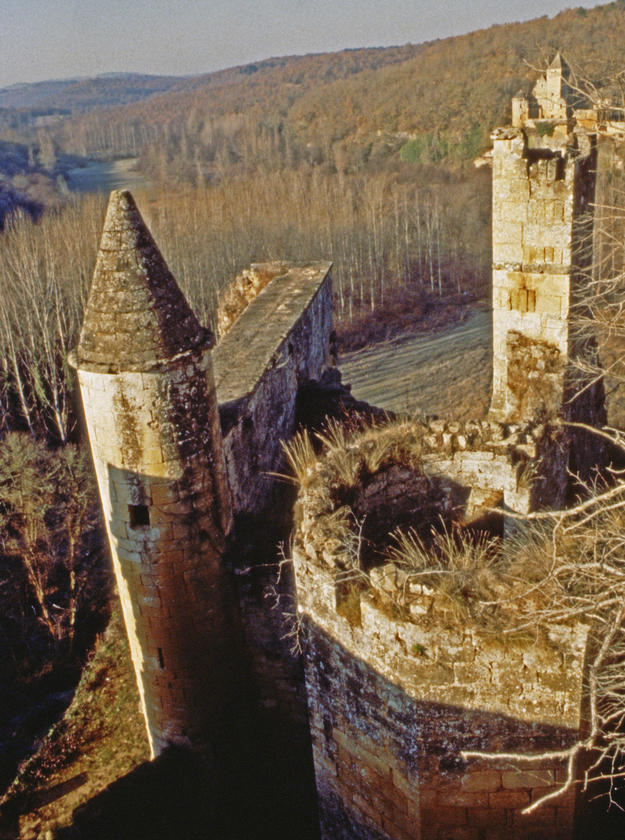 A remarkable ruin dating from the 12th century, 1992