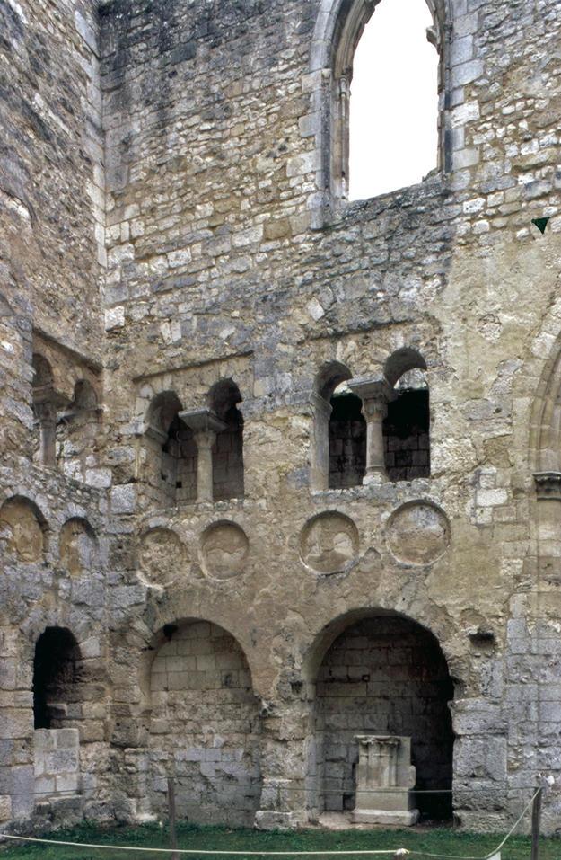 Northwest corner of nave, 2003
