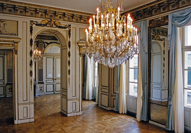Grand Reception Room before conservation, 2001