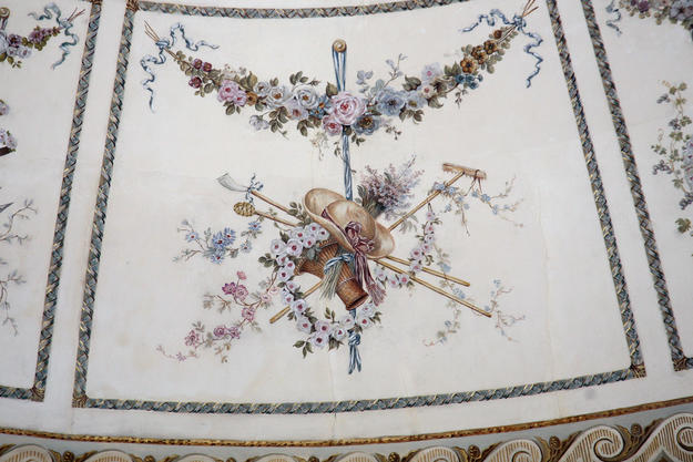 Painting detail after conservation , 2012