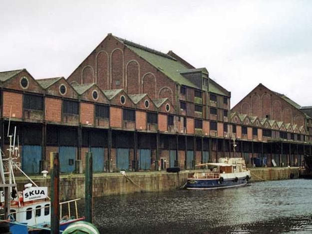 Greenock Sugar Warehouses