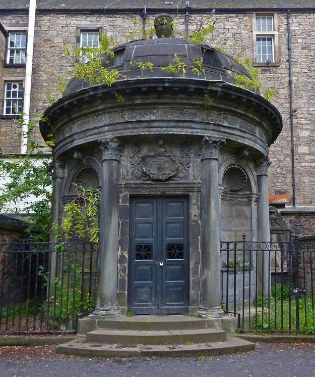 George Mackenzie's Tomb at Greyfriars Kirkyard, 2011
