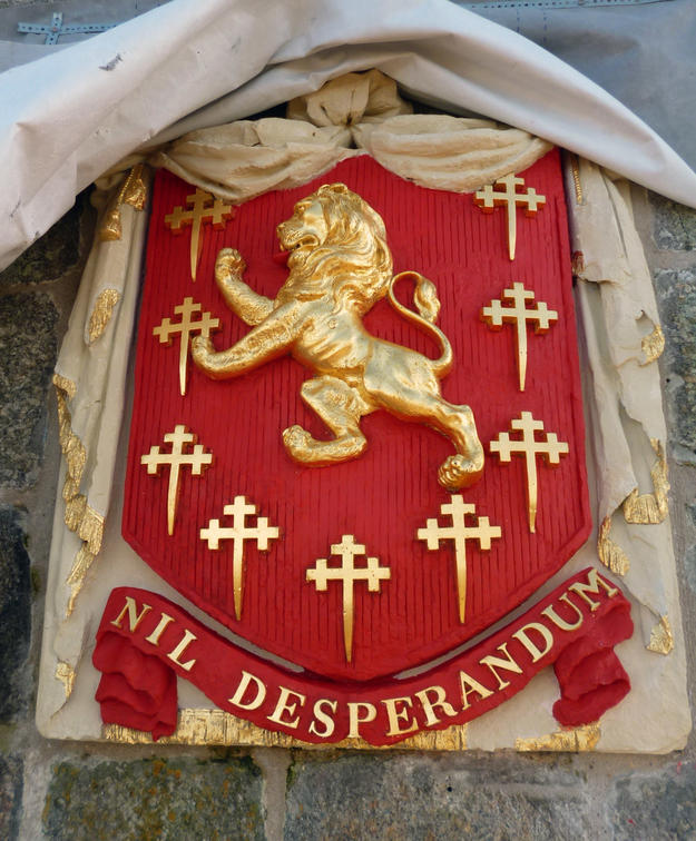 The shield after conservation  , 2013