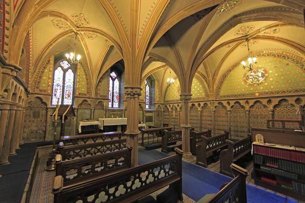 Chapel interior, 2014