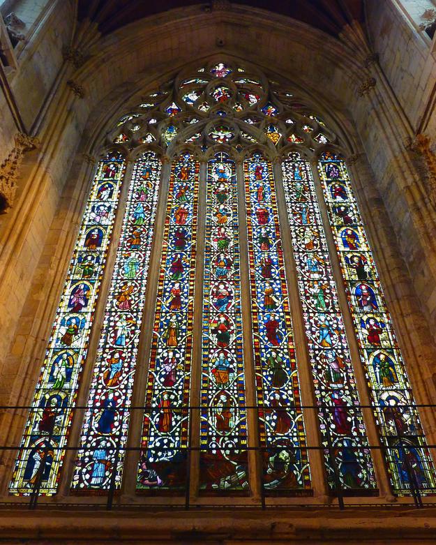 14th century Jesse window, 2011