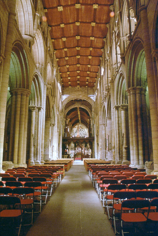 Beyond its historical significance, the abbey is a parish church open for worship daily, 2001