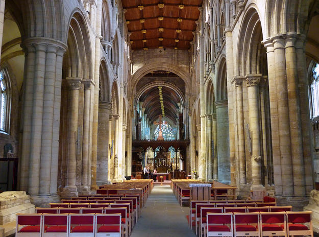 The nave towards the altar, 2011