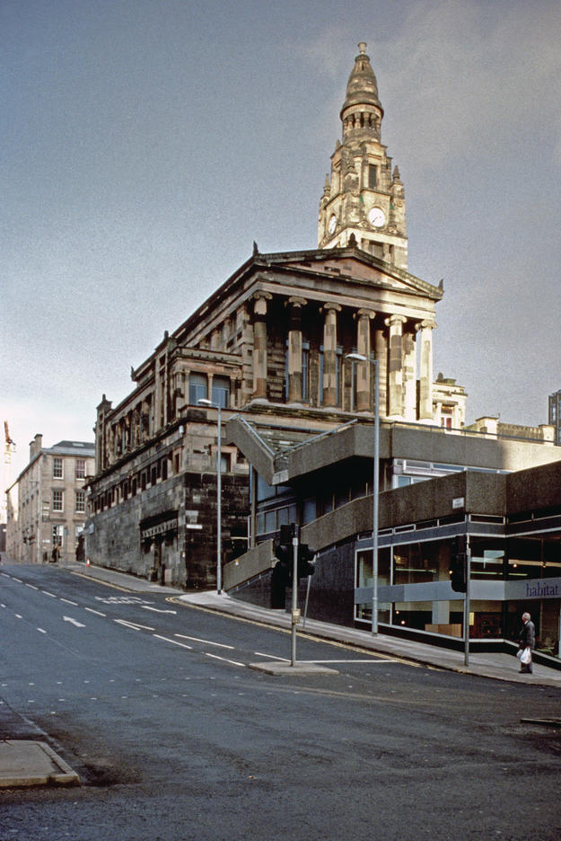 The church is now largely surrounded by modern construction, 2003