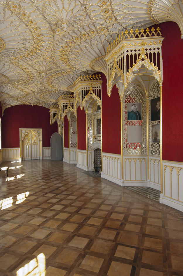 Long Gallery after conservation, 2011