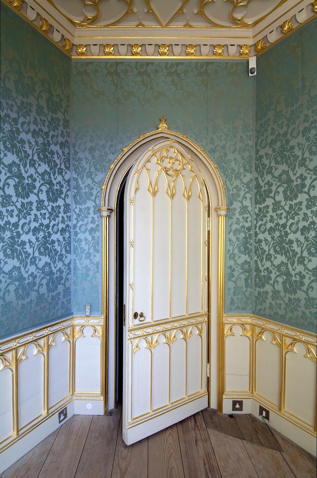 Beauclerk Closet after conservation, 2011