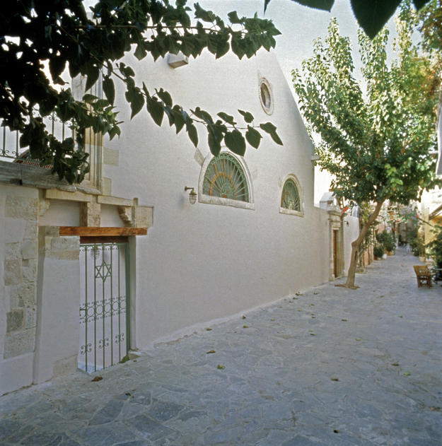 Façade after conservation , 1999