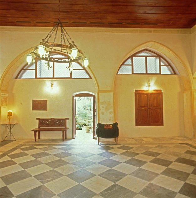 Interior after conservation , 1999