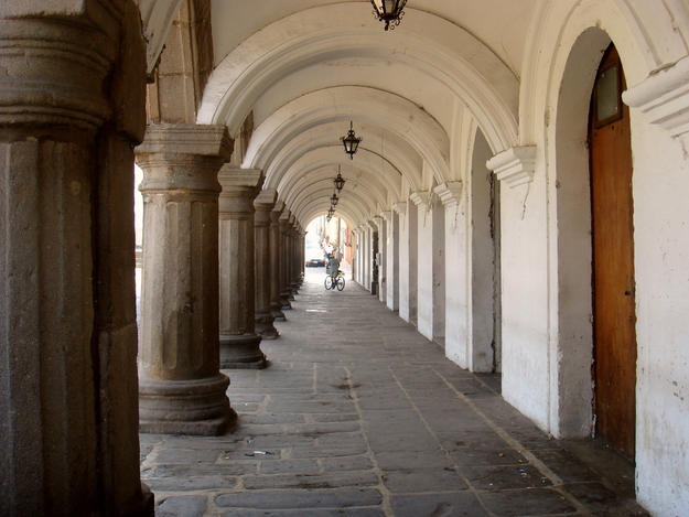 View through corridor , 2007