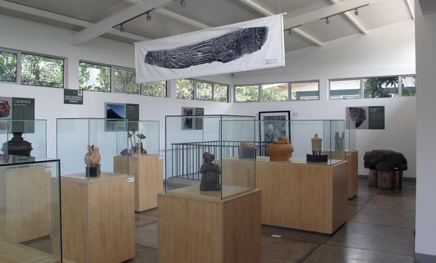 Interior of the Visitor's Center, 2012