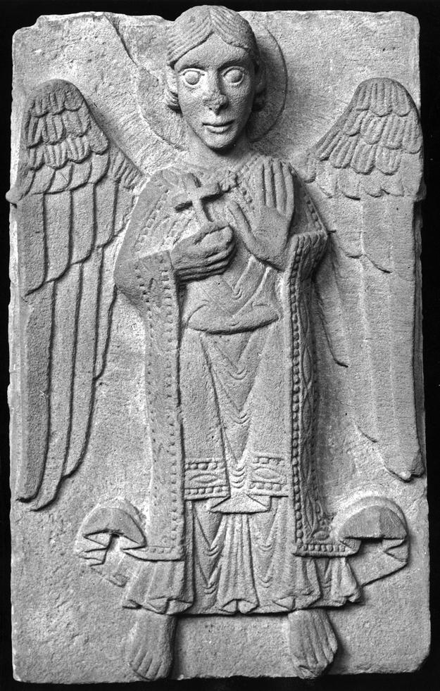 A medieval sculptural fragment, 1990