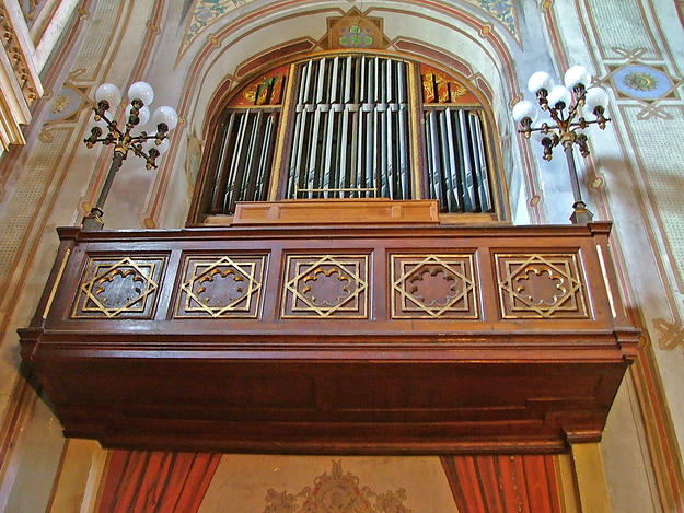 The original Angster organ, 2003