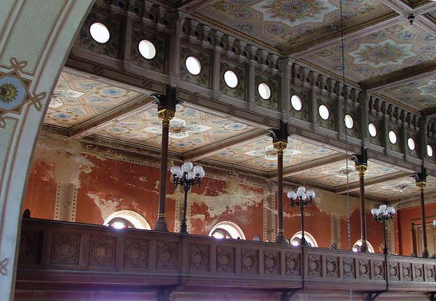 Ornate interior , 2003